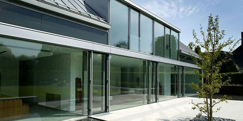 Glazed facades
