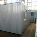 Celtnieku vagoniņš birojs 15 m2