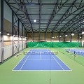 CEWOOD acoustic wall panels (fibrolite) in tennis center Lielupe