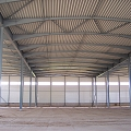 Metal structures for construction