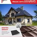 Steel roof tile profile Kingas