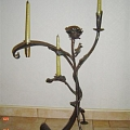 Candlesticks from metal