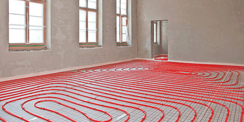 Warm floor installation