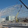 Hangars, metal hangars, hangar construction, hangars without frame